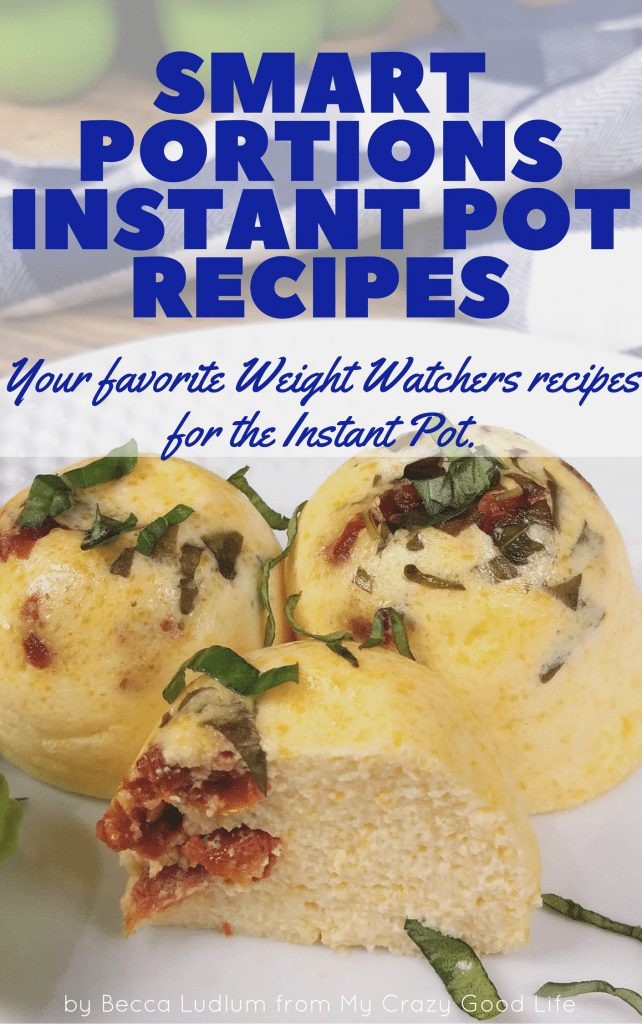 The Smart Portion Instant Pot Favorites eBook is what you need for your pressure cooker! Smart Points have been calculated on all recipes for you.