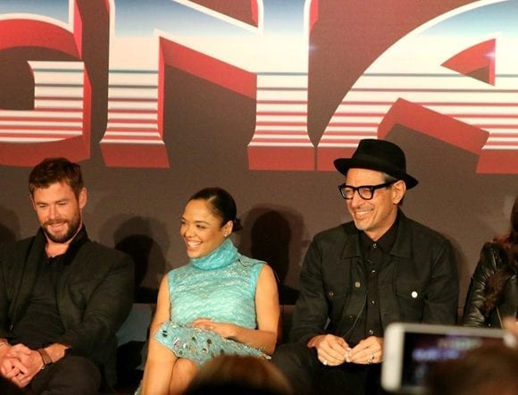 Thor: Ragnarok Cast Interview #ThorRagnarokEvent
