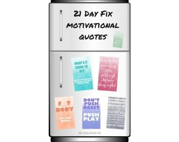 Need Some 21 Day Fix Motivation?