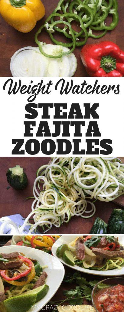 Zucchini noodle recipes weight watchers