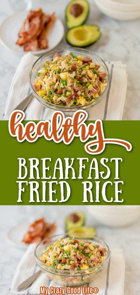 healthy breakfast fried rice pin