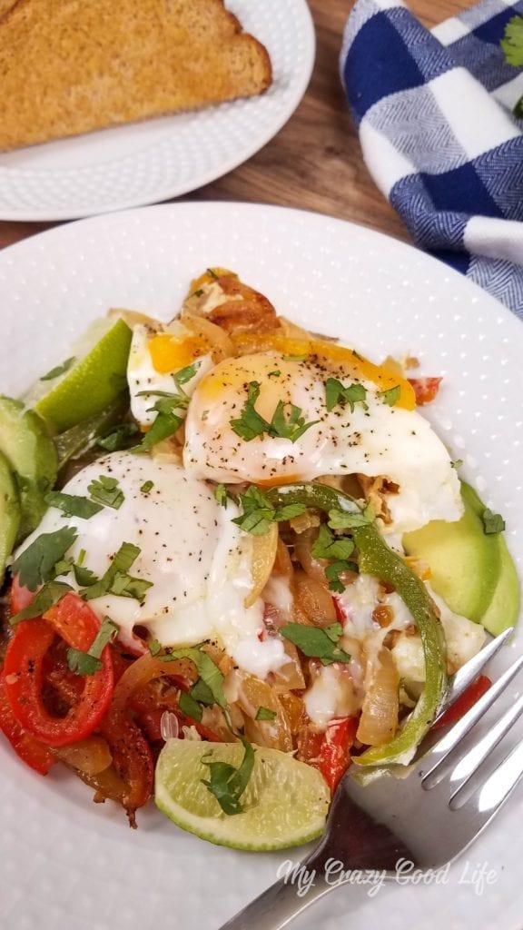 Instant Pot Fajita Breakfast Casserole | 21 Day Fix Breakfast Casserole