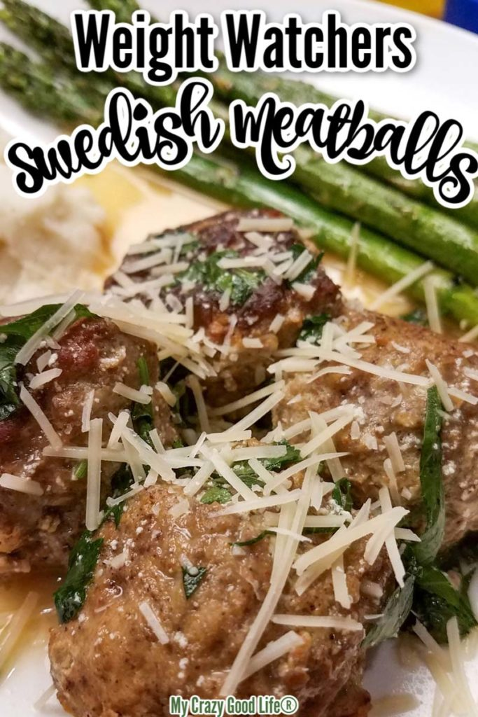 weight watchers swedish meatballs image and text for Pinterest