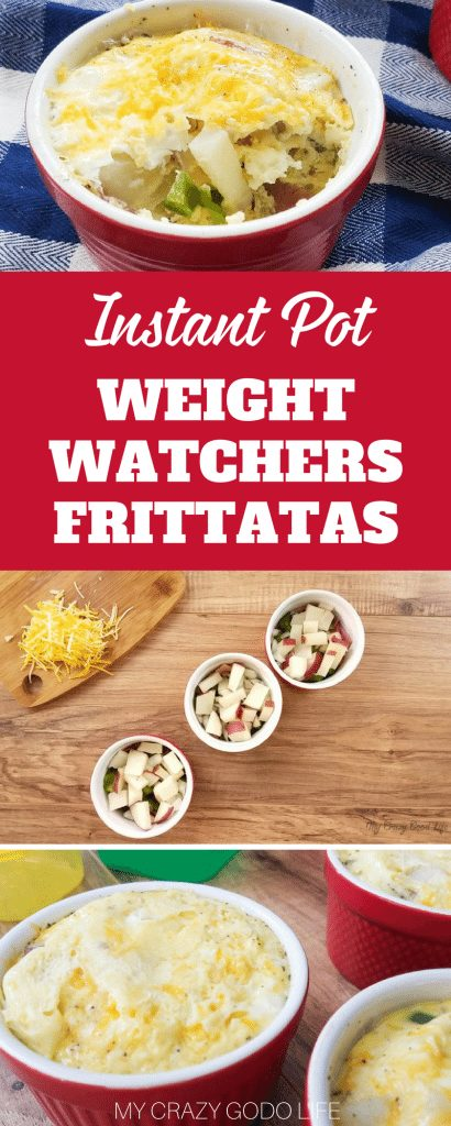 I enjoy starting the day with a healthy Weight Watchers breakfast recipe. Thanks to my Instant Pot I can have a Weight Watchers frittata hot and fresh without sacrificing a bunch of extra time in the morning. #weightwatchers #recipes #instantpot