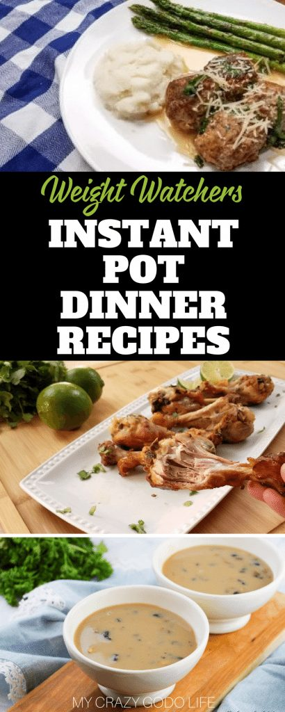 These Weight Watchers Instant Pot Dinner Recipes are ones that your entire family will love! Putting together Weight Watchers dinner recipes that everyone can enjoy takes the stress out of healthy eating. No one wants to cook two different meals for dinner, least of all me.