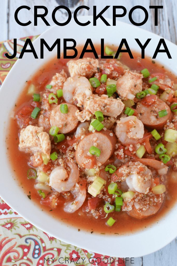 Jambalaya is one of those dishes that is packed full of multiple flavors and textures. It's a great dish and this version makes it even easier! Check out this simple and easy recipe for Crockpot jambalaya.