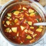 There's nothing quite like a recipe that you don't have to cook, right? This gazpacho recipe will blow you away! It's got tons of great flavors, it's easy to make, and best of all?! It's a 21 Day Fix gazpacho soup.