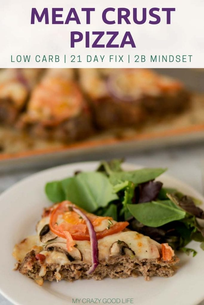 I love pizza, and I love that I don't have to sacrifice carbs for this recipe! This low carb meatza recipe is a great 21 Day Fix dinner recipe that your meat loving husband will LOVE.This meatza recipe is a low carb, keto, 21 Day Fix option. #lowcarb #meatza #keto #glutenfree #21dayfix Low Carb Pizza | Keto Pizza | Meat Pizza