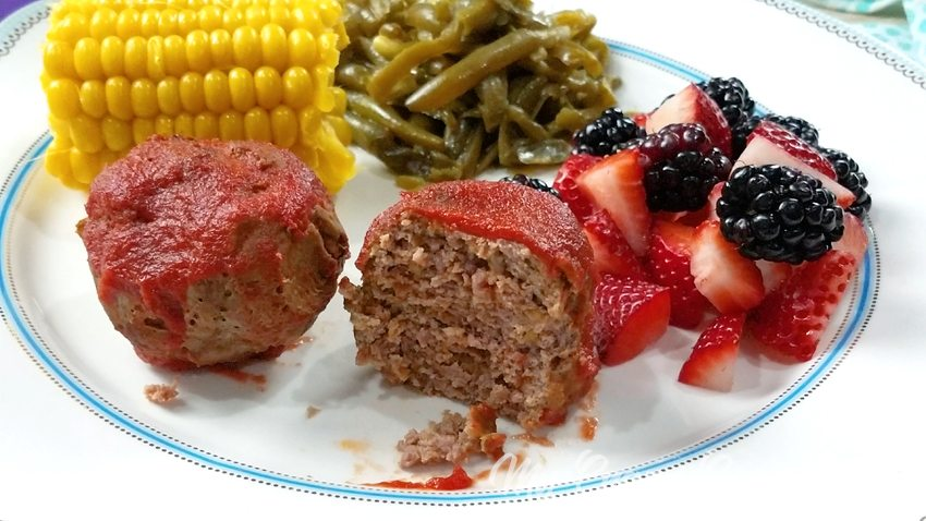 This recipe for mini meatloaves makes use of your egg bite or baby food molds! You can make this easy dinner recipe in the Instant Pot, slow cooker, or in the oven. This is one of our favorite family dinner recipes! 21 Day Fix Dinner   21 Day Fix Instant Pot   Instant Pot Mini Meatloaves   Healthy Slow Cooker Dinner