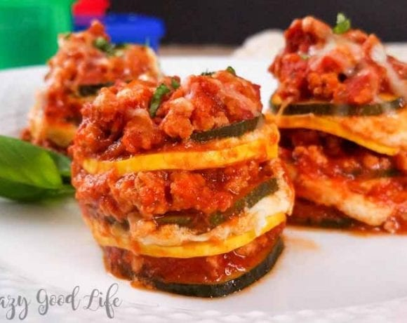 Lasagna Stacks | Bite Sized Instant Pot Lasagna