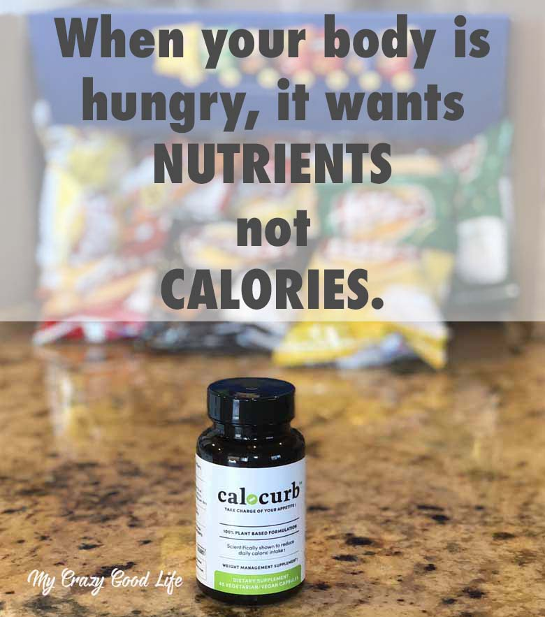 Calocurb is a plant based natural weight management supplement that has just four ingredients. I've noticed a reduction in hunger and less mid-day cravings since I've started taking it! #weightloss #naturalweightloss #fatloss