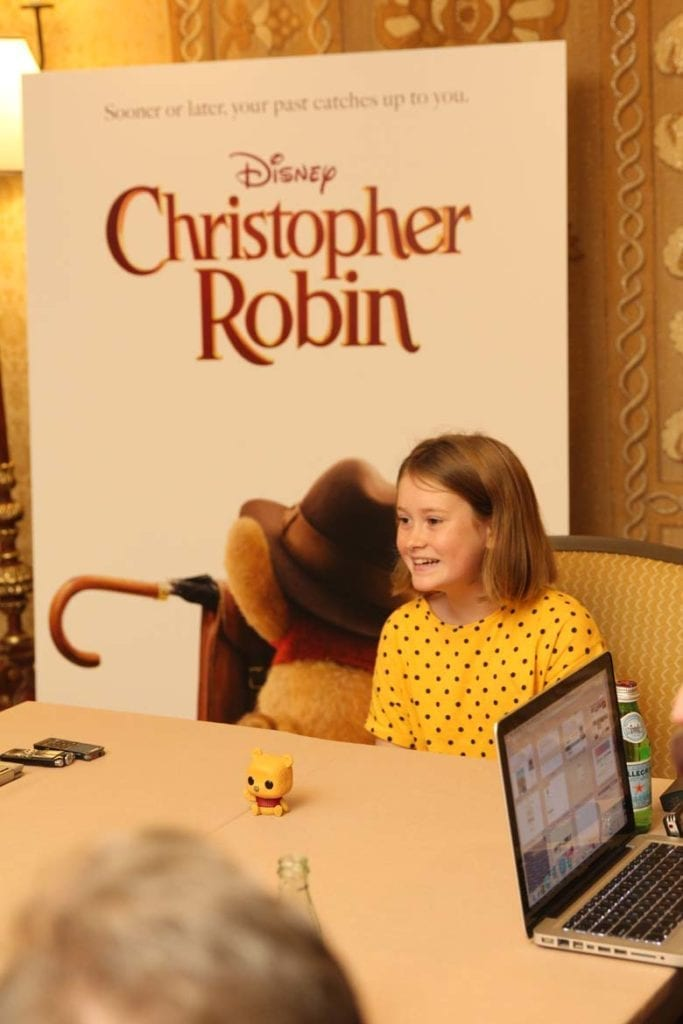 Interview with Bronte Carmichael of Christopher Robin