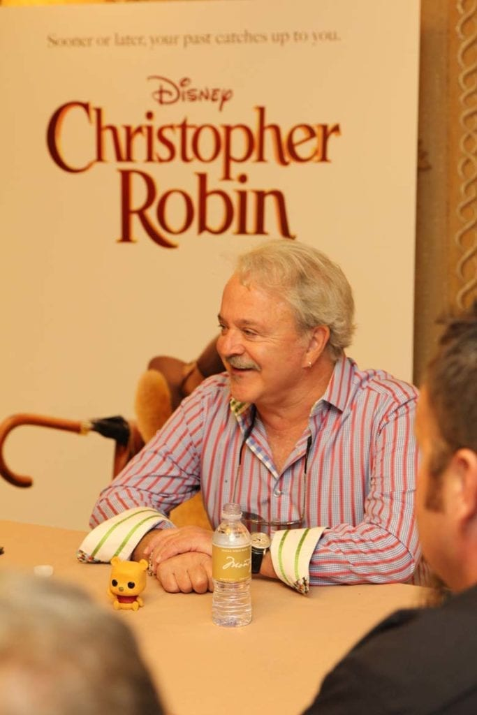A chat with Jim Cummings, voices of Winnie the Pooh and Tigger in Christopher Robin