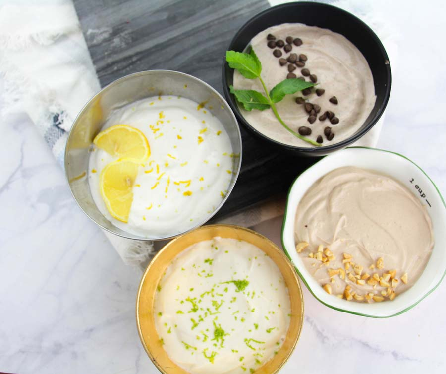 Wonder Whip recipes are taking the internet by storm. They're a healthy dessert choice, no bake, and perfect for meal prep. 2B Mindset Dessert | Wonderwhip | 21 Day Fix Dessert | Healthy Desserts #2bmindset #protein #21dayfix #healthydessert #beachbody