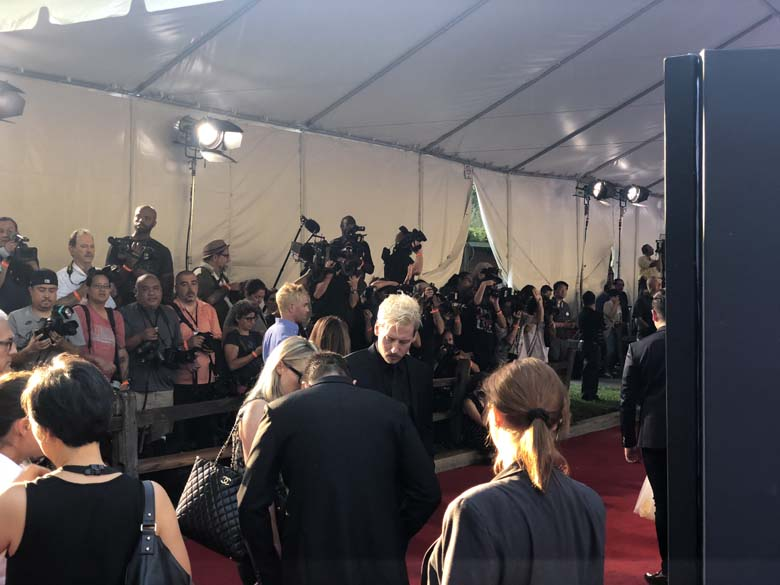 red carpet experience at christopher robin