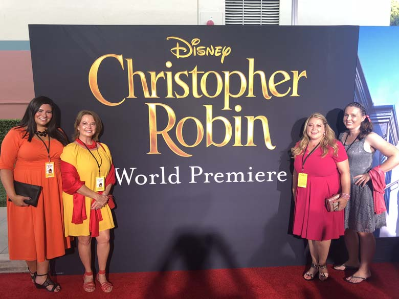 Christopher Robin Red Carpet Experience