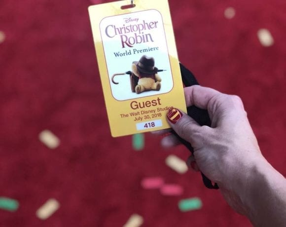 Red Carpet Experience with Christopher Robin