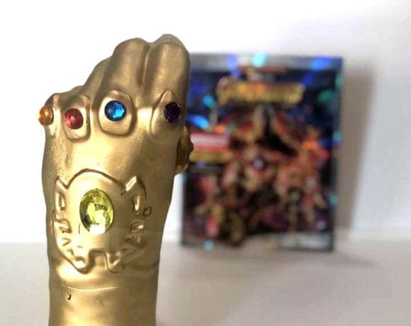 Madame Tussauds Wax Infinity Gauntlets
