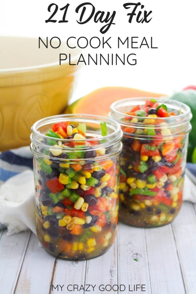 21 Day Fix no cook meal planning ideas will help you keep healthy meals on the table with less stress! No hassle breakfast, lunches, and dinners that are 21 Day Fix friendly and require no cooking throughout the week.21 Day Fix No Cook Meals | Healthy Meals #21dayfix #beachbody #nocook