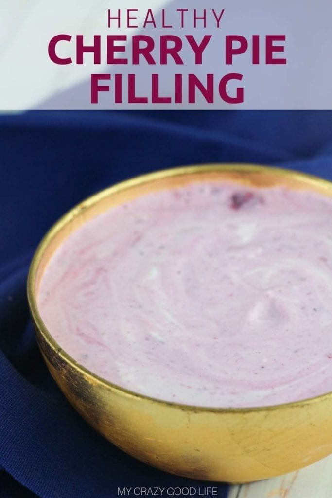 This easy Cherry Wonder Whip recipe is a delicious protein-packed snack or dessert! You can make this yogurt whip into a no bake pie filling, or eat it on it's own! It's the perfect 21 Day Fix dessert, or a 2B Mindset breakfast or lunch side dish! 21 Day Fix Snack | 2B Mindset lunch | Healthy Dessert | Healthy Recipe #21dayfix #beachbody #2bmindset #healthy