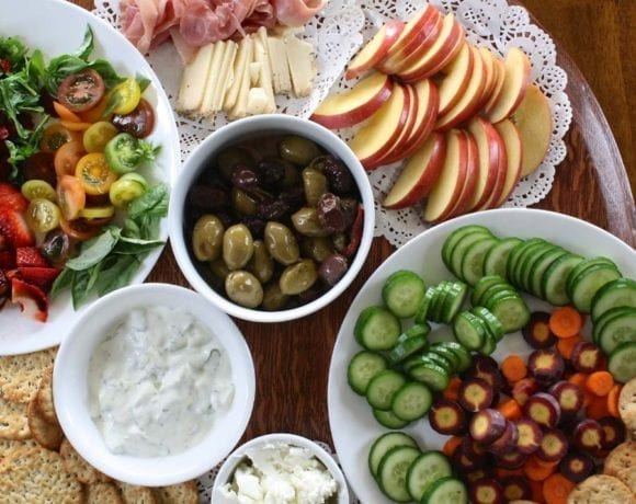 Holiday Grazing Table Ideas | Healthy Grazing Tables