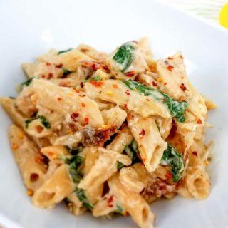 WW Tuscan Chicken Pasta
