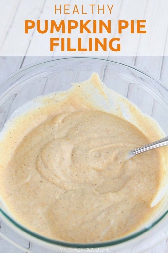 Healthy Creamy Pumpkin Pie Filling