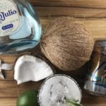This Weight Watchers margarita recipe is refreshing and delicious! It's easy to swap out flavors of LaCroix to mix things up! Weight Watchers Coconut Margarita | Weight Watchers Points | Weight Watchers Low Cal Margarita | Weight Watchers Cocktail Recipes | WW Margarita #weightwatchers #ww #freestyle