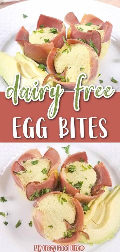Dairy Free Egg Bites Pin