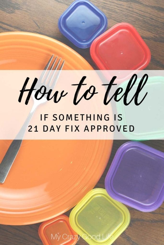 "One of the most common questions I am asked is, ""Is this 21 Day Fix approved?"" I'm sharing how I can tell if it's an approved food and what you should be looking for when you're trying to decide, along with some examples. 21 Day Fix approved foods 