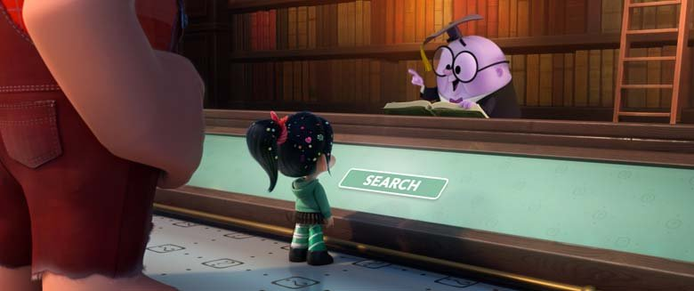 Knowsmore in Ralph Breaks the internet