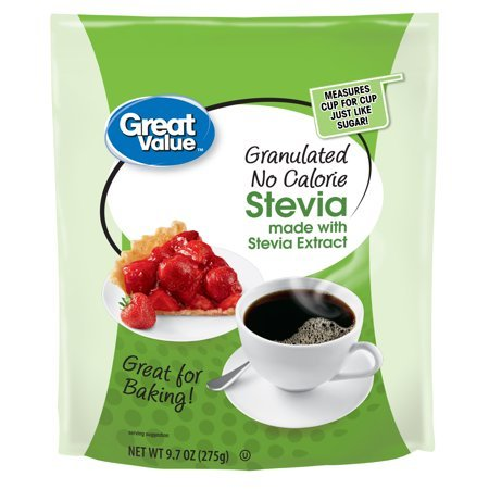 Great Value brand Stevia