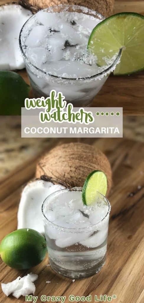 Weight Watchers Coconut Margarita pin