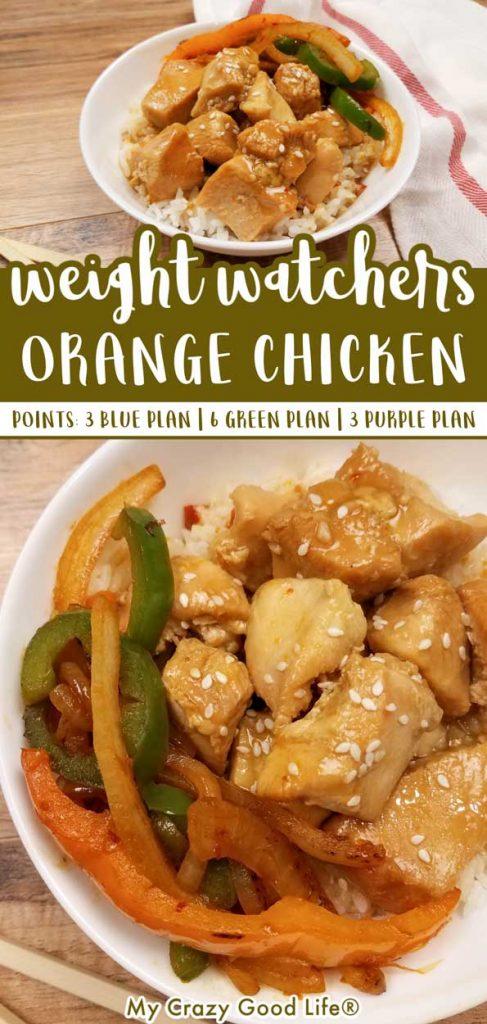 weight watchers orange chicken pin