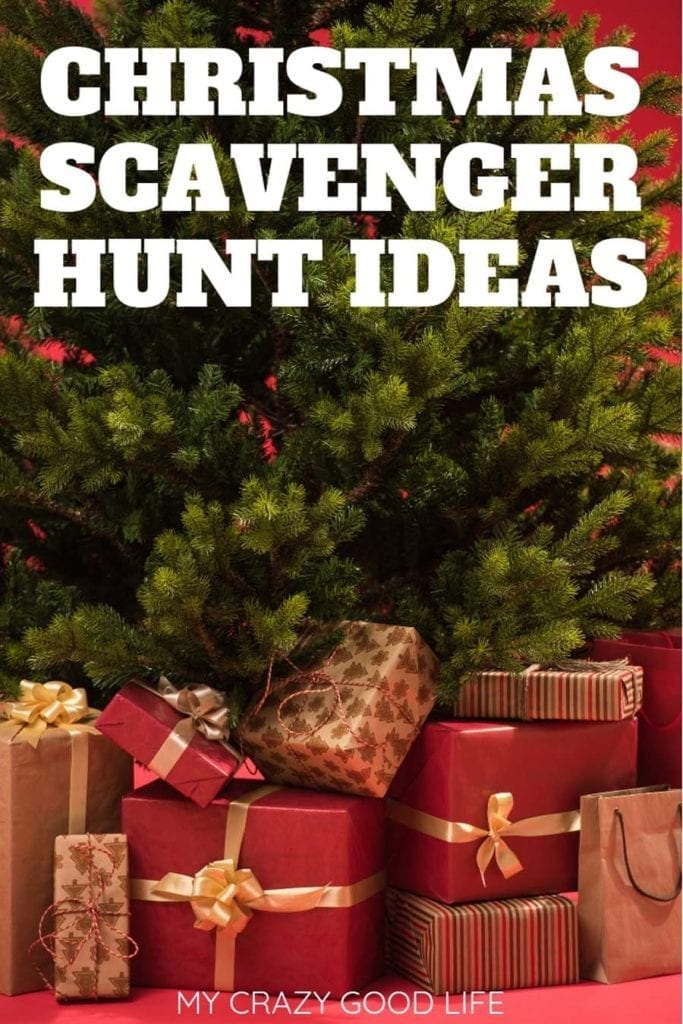 graphic relating to Christmas Scavenger Hunt Printable Clues known as Xmas Scavenger Hunt Plans - My Outrageous Wonderful Existence