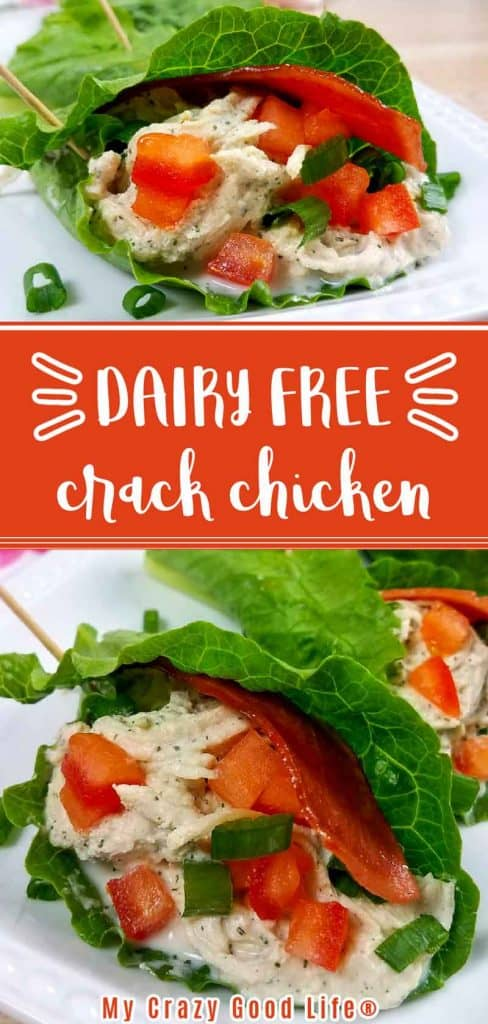 dairy free crack chicken pin