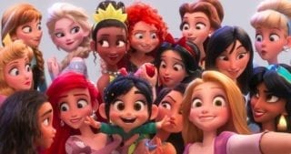 What is OhMyDisney.com and why is it featured in the new movie Ralph Breaks the Internet? Any what's the deal with the Disney Princesses?
