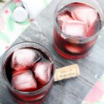 This Red Wine Margarita recipe is so easy! You'll impress your friends with this Sangria style cocktail. Tequila, red wine, and triple sec make up this happy hour cocktail. Margarita Recipe | Margarita Cocktail | Red Wine Cocktail | Red Wine Recipe #wine #margarita #cocktail