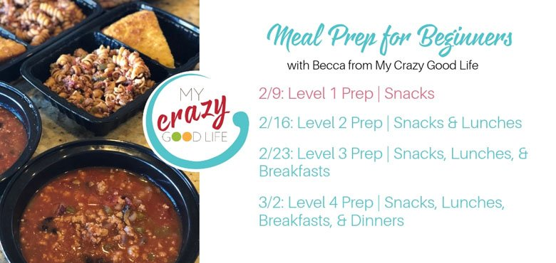 Meal Prep for Beginners Challenge Group
