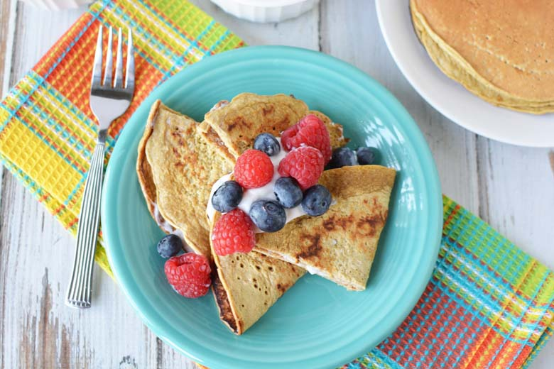 Easy Healthy Crepe Recipe My Crazy Good Life