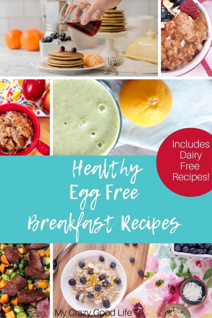 These Healthy Egg Free Breakfasts are perfect for those of you who have an egg allergy or just don't like them! Protein but no egg breakfasts are hard to come by, but I've pulled together a list of healthy breakfasts for you that have no eggs! No Egg Breakfast Recipes | High Protein Breakfast | Healthy No Egg breakfast | 21 Day Fix Egg Free Breakfast