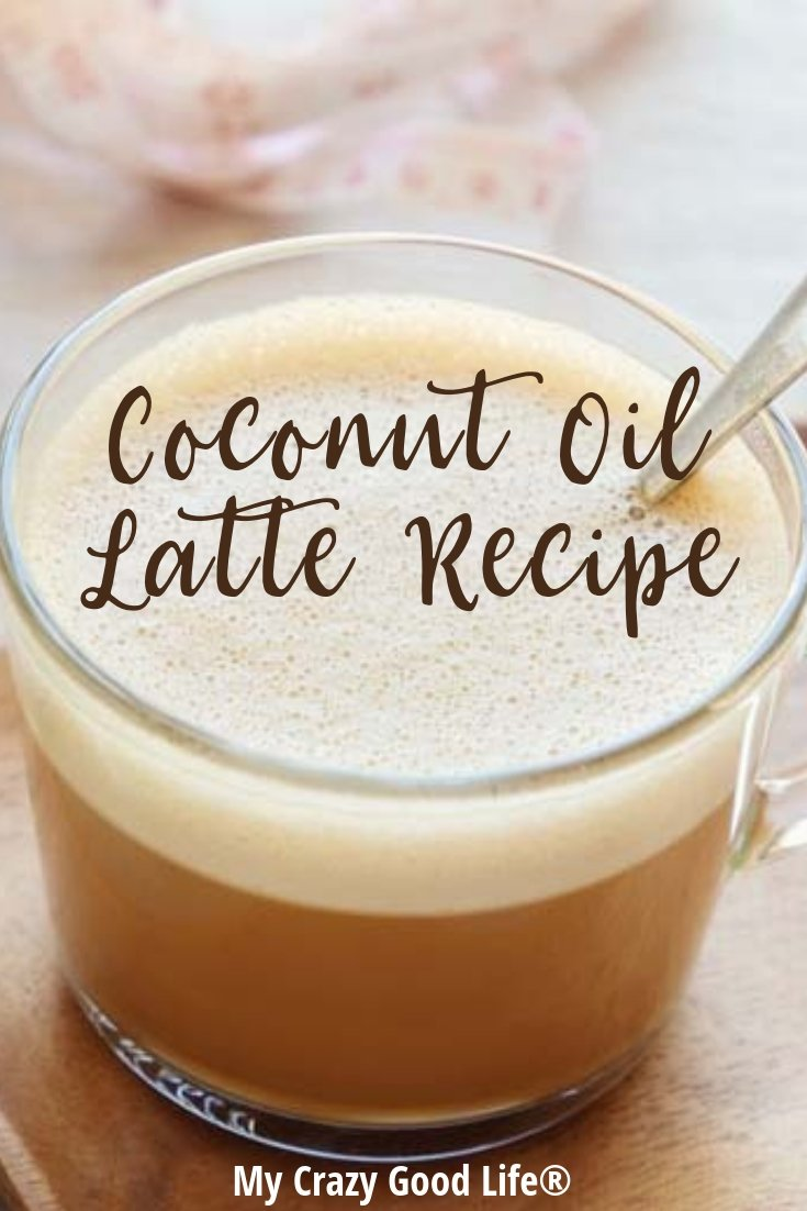 image of coconut oil latte
