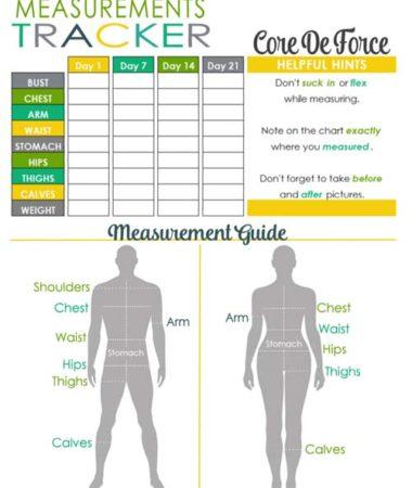 Core de Force Measurement Tracker