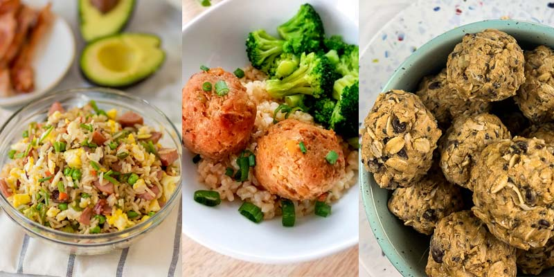 three meals to prep