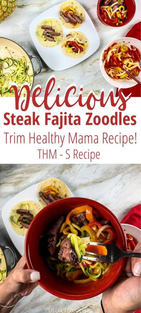 THM Pin for Steak Fajita Zoodles