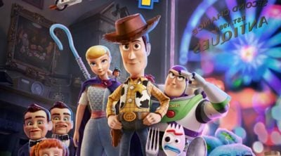 movie poster of toy story 4
