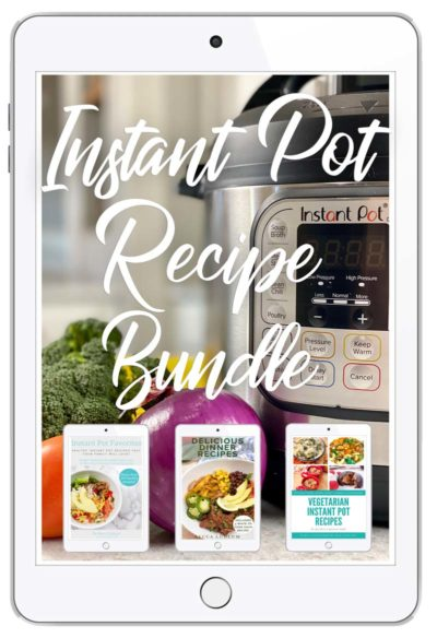 cookbook covers on an iPad screen
