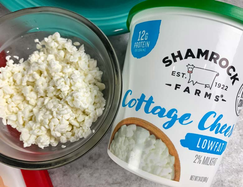 sshamrock farms cottage cheese in new packaging for 2019