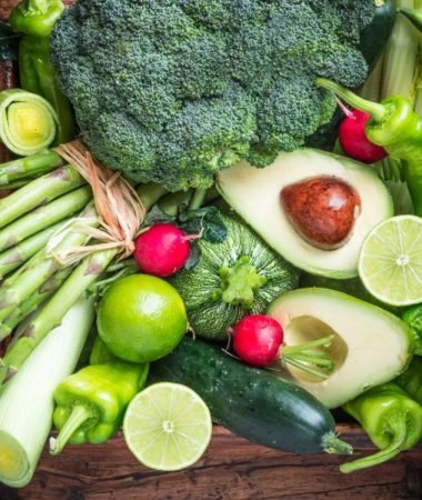 image of vegetables, mostly green