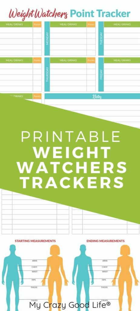 Pin for the Printable WW Trackers